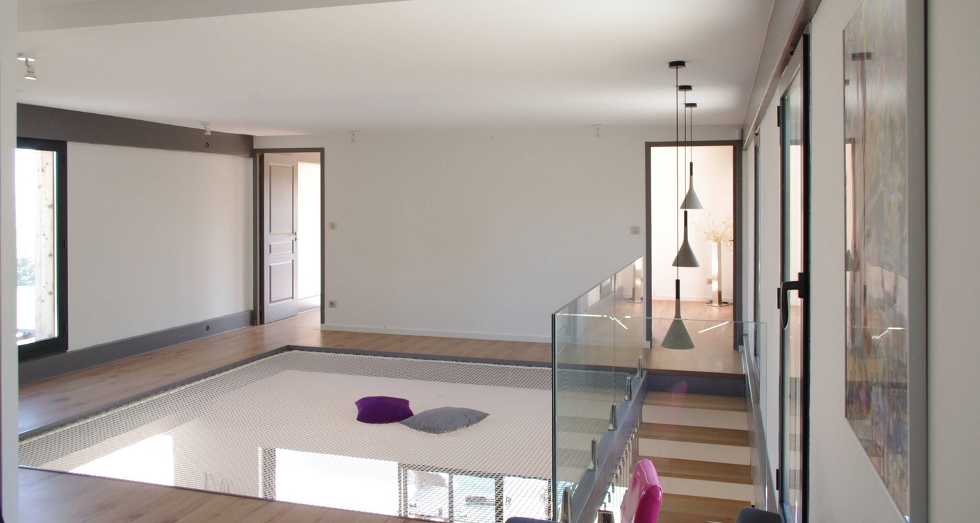 id e d co loft un filet de catamaran mode loft. Black Bedroom Furniture Sets. Home Design Ideas