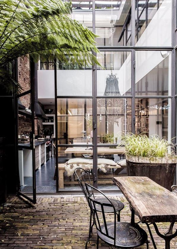 loft de rêve patio